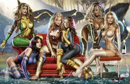 Greg Horn - Women of X-Men